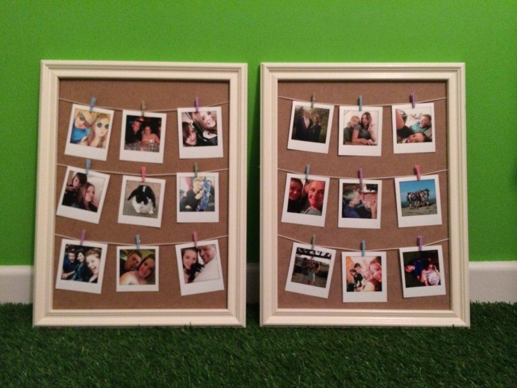 The Polaroid boards