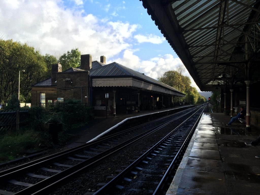 Hebden Bridge train station