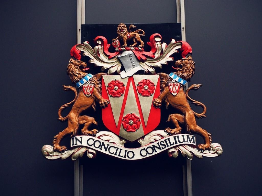 The LCC crest