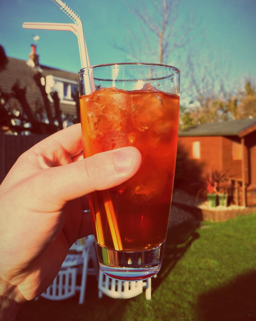 A delicious iced tea to kick off summer