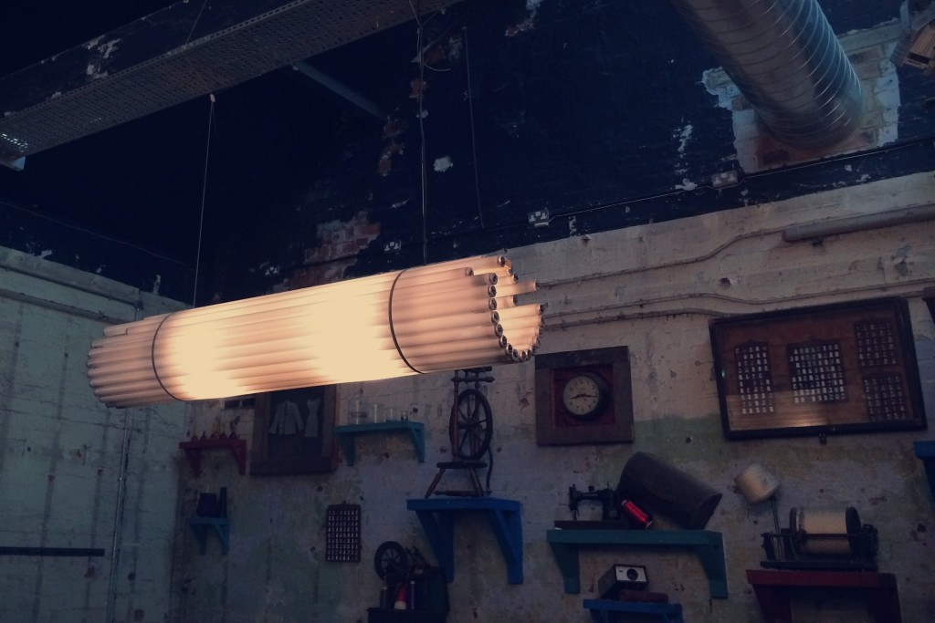 Canal Mills' lighting fixture