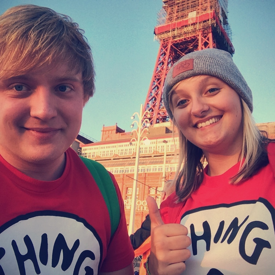 Ollie & Danni at Blackpool Tower