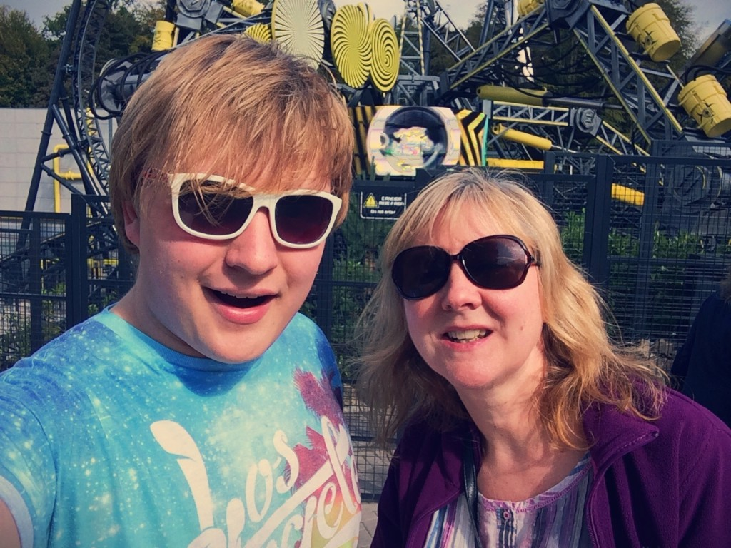Me and my mum by The Smiler