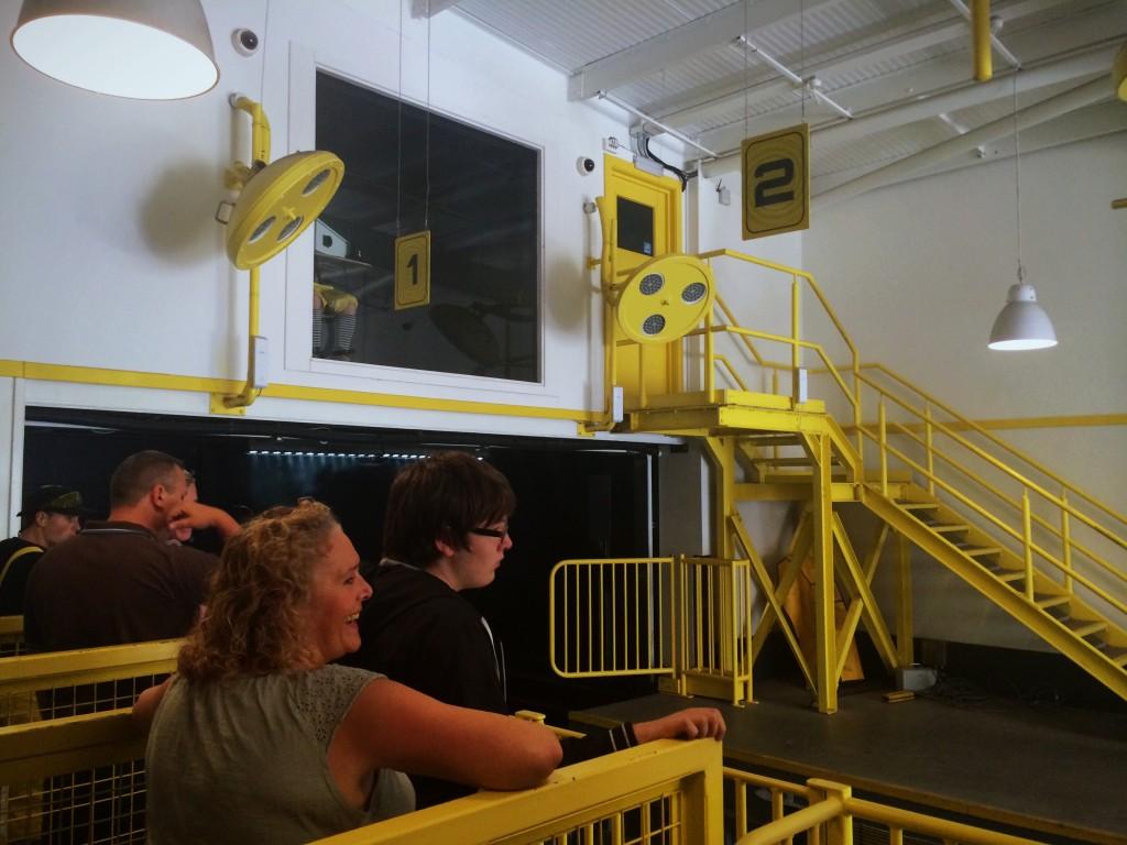 Inside The Smiler station