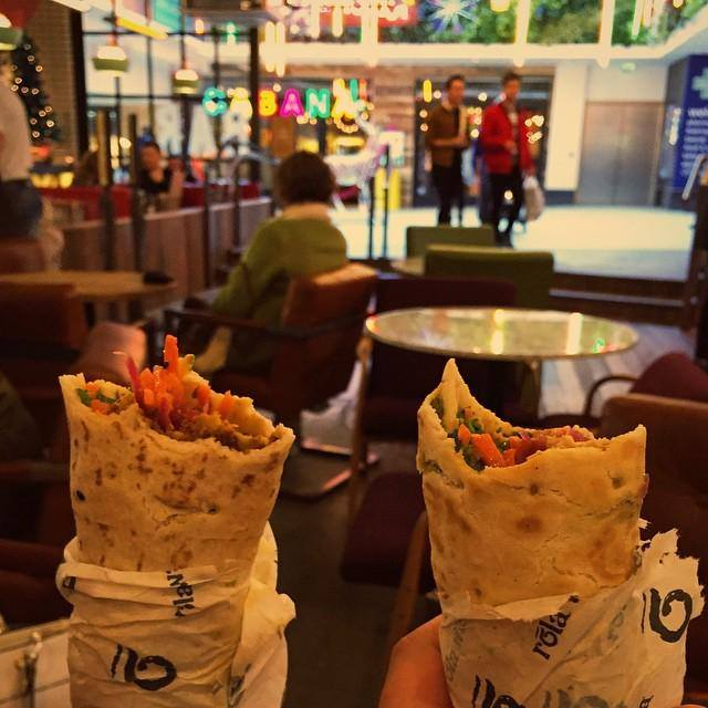 Delicious wraps by Rola Wala