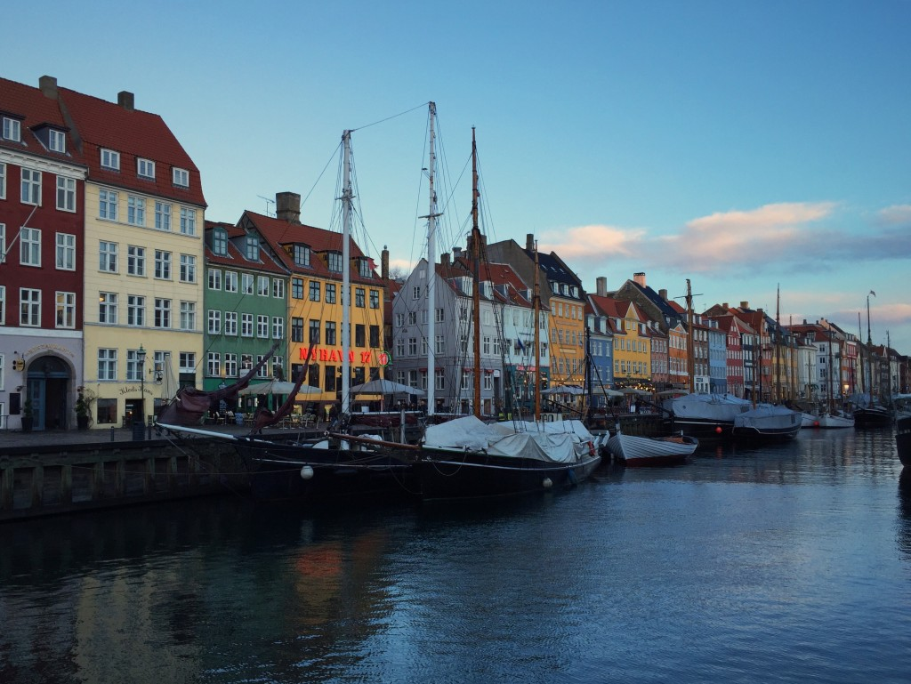 The buildings along Nyhavn
