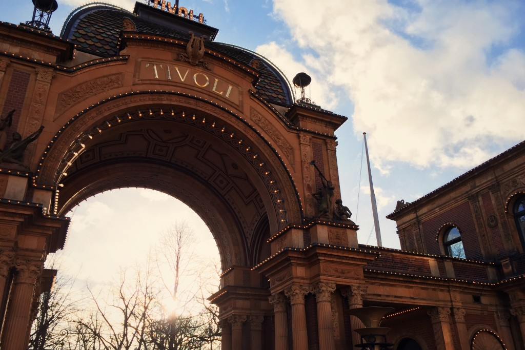 The entrance to Tivoli