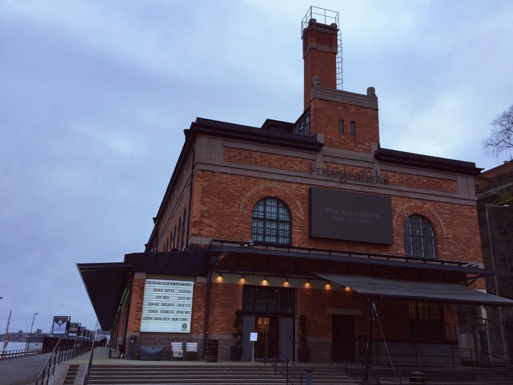 Fotografiska, along the waterfront on Södermalm