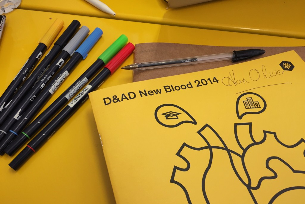 D&AD New Blood 2014