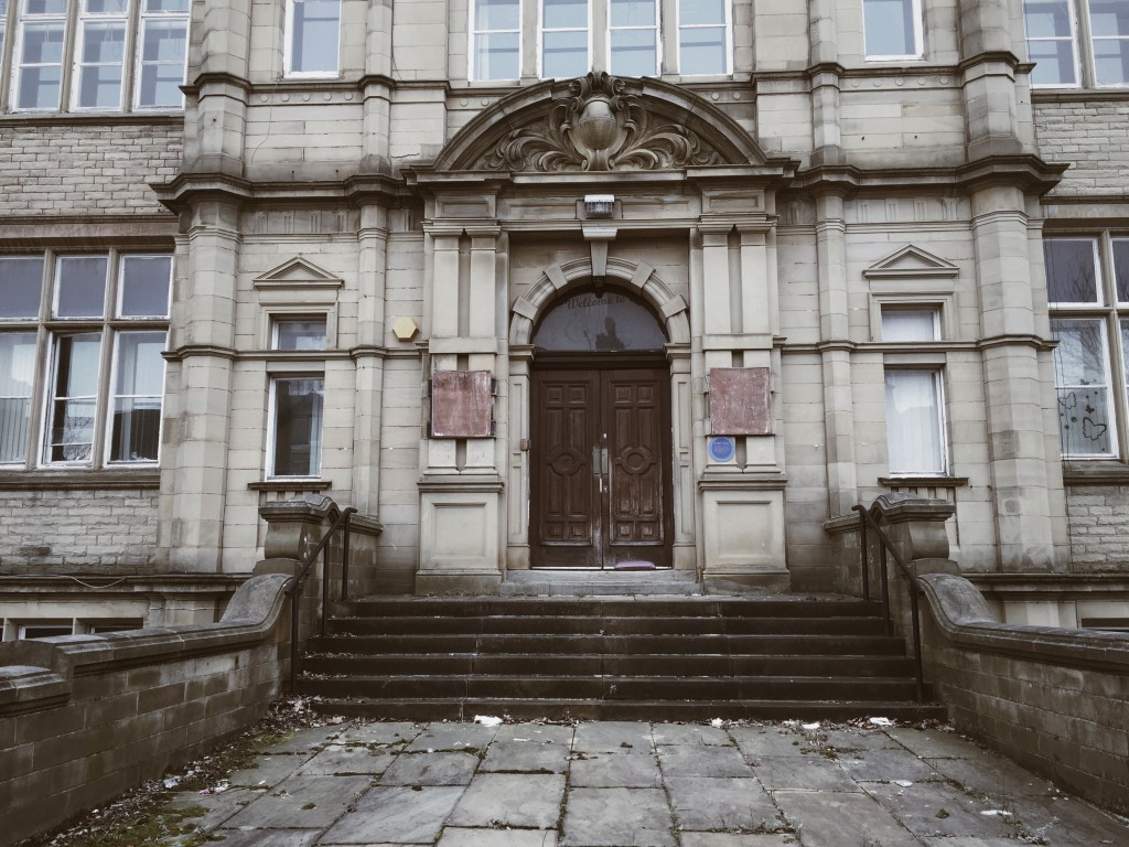 The old college building