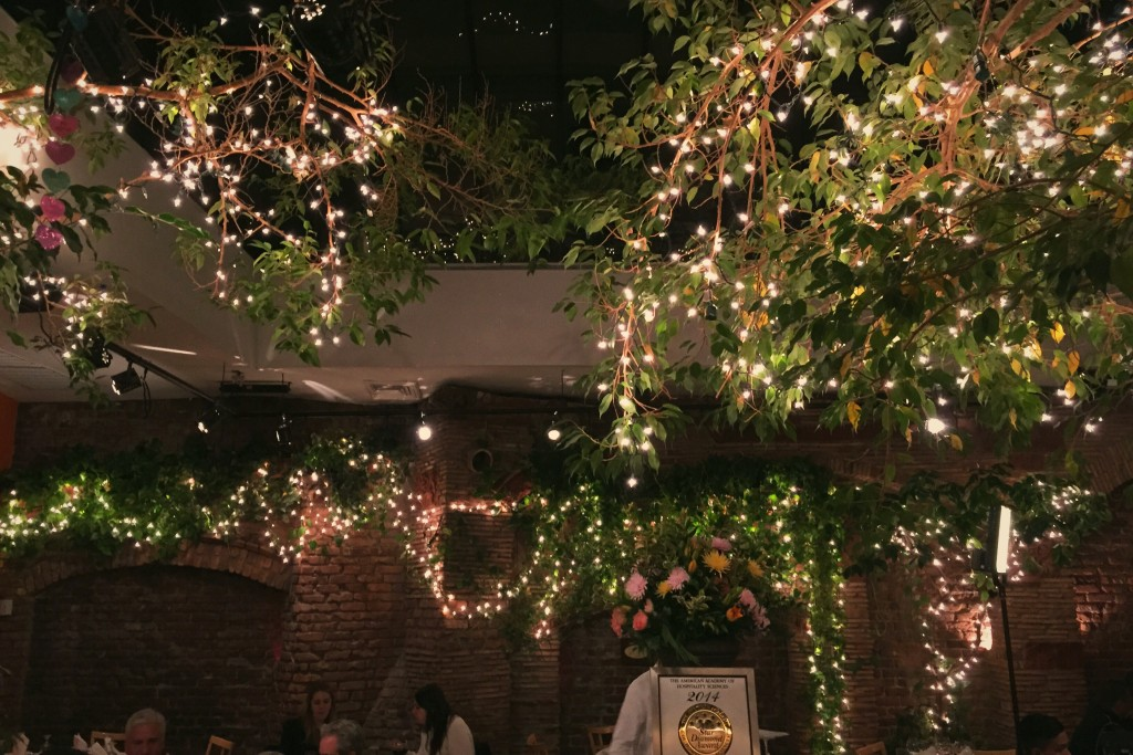 The garden room in the Italian