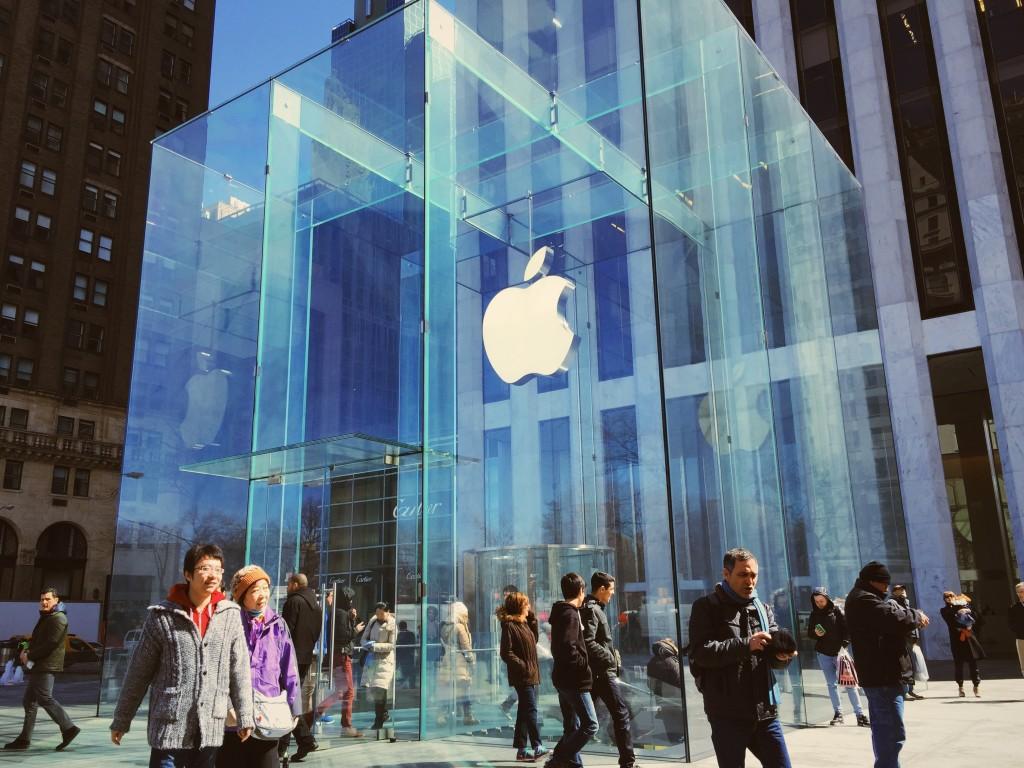 The NY Apple Store