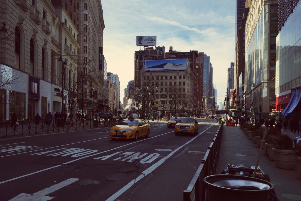 A view down Broadway