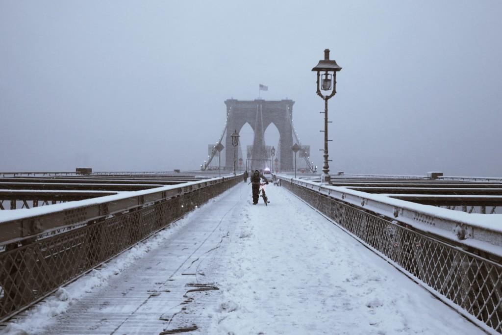 A bridge into the whiteness
