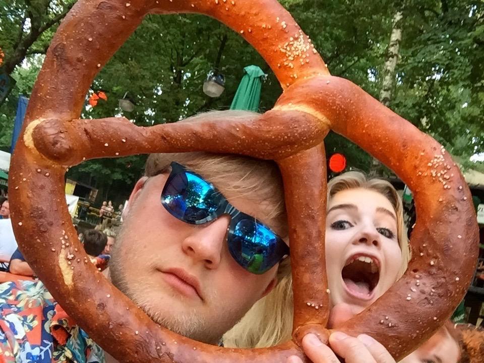 Death by pretzel