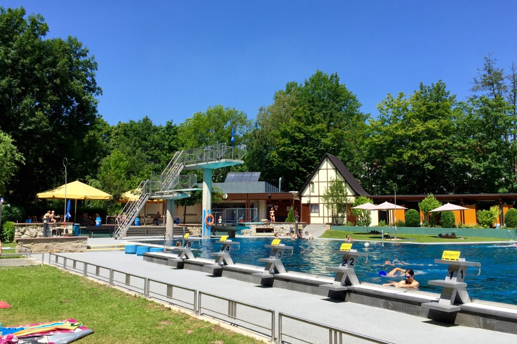 The Freibad in Herzo