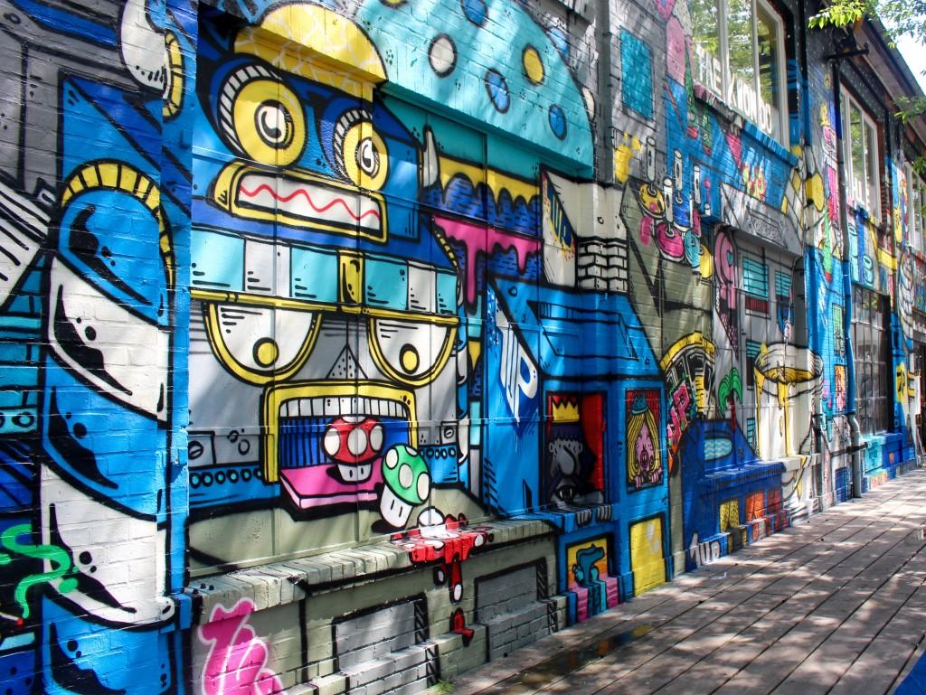 Ubran Spree street art