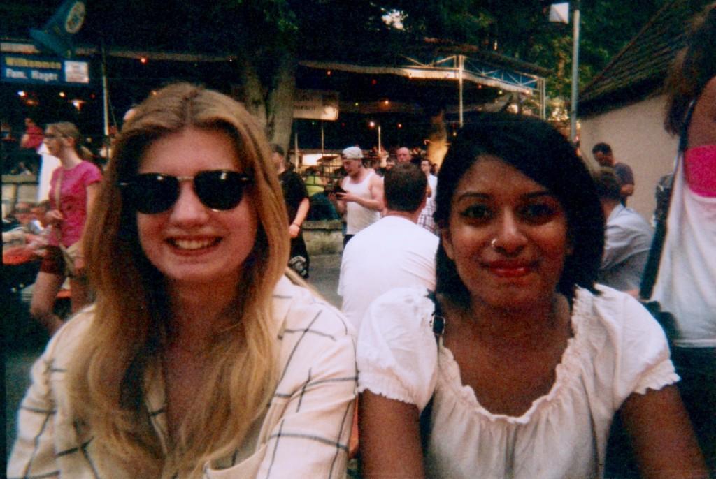 Izzy and Rhea at Kerwa