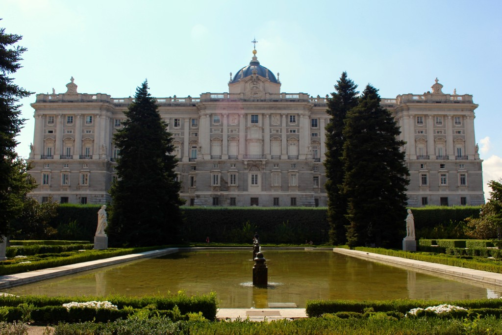 The Royal Palace from behind