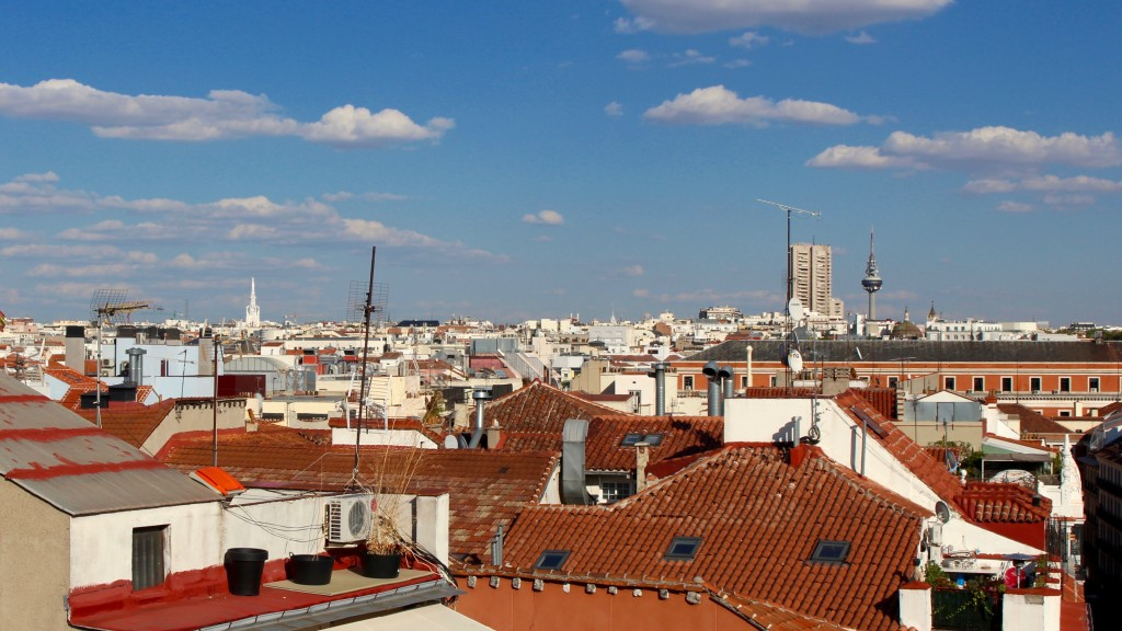 A view across Madrid