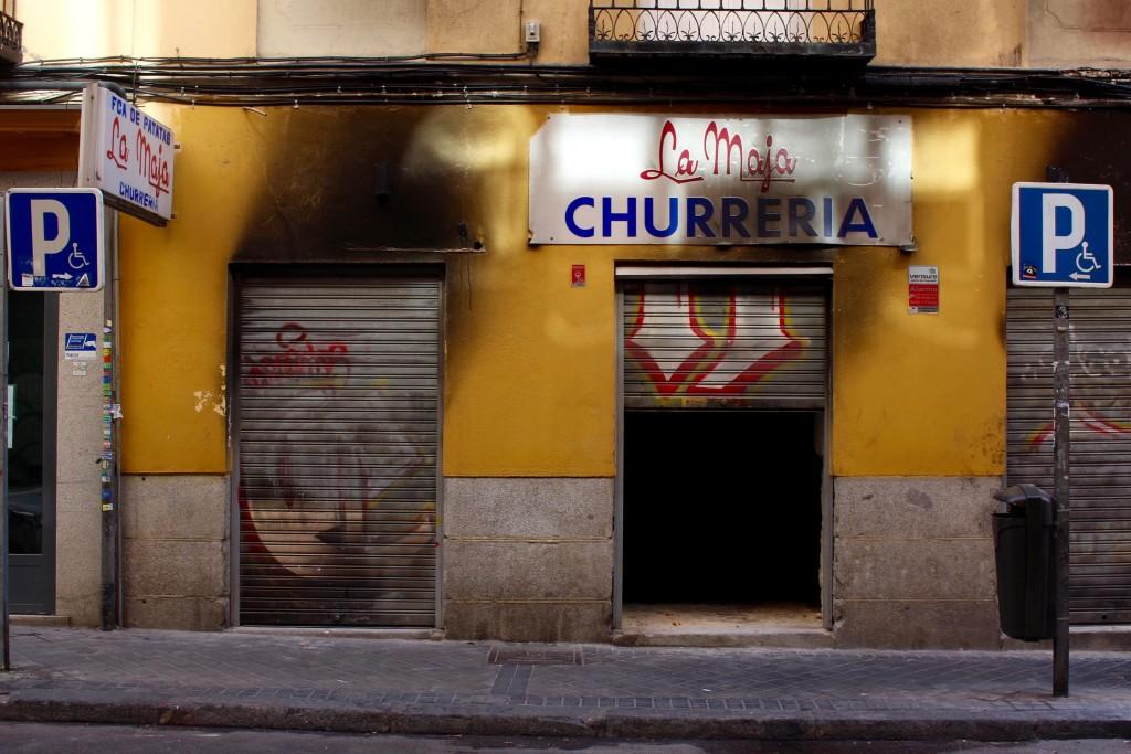 Burned churros, anyone?