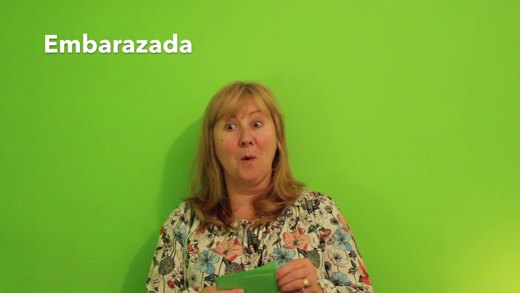 Embarazada meaning Pregnant