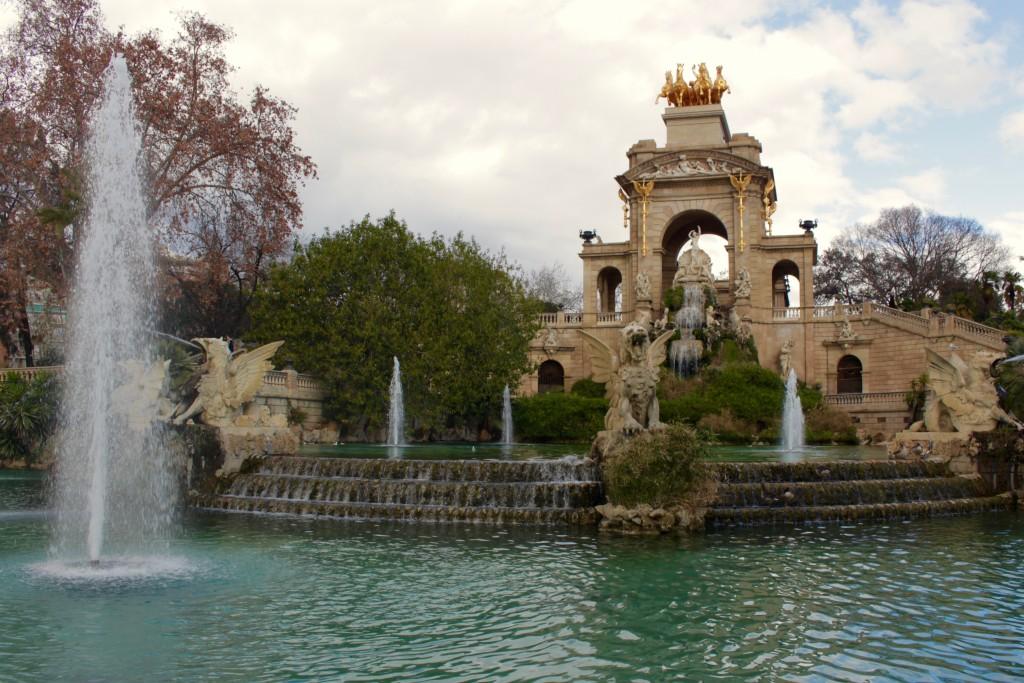 A pretty fountain