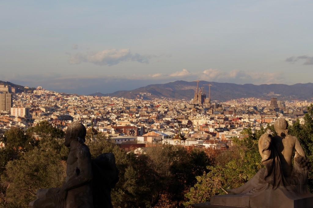 I spy the Sagrada Familia