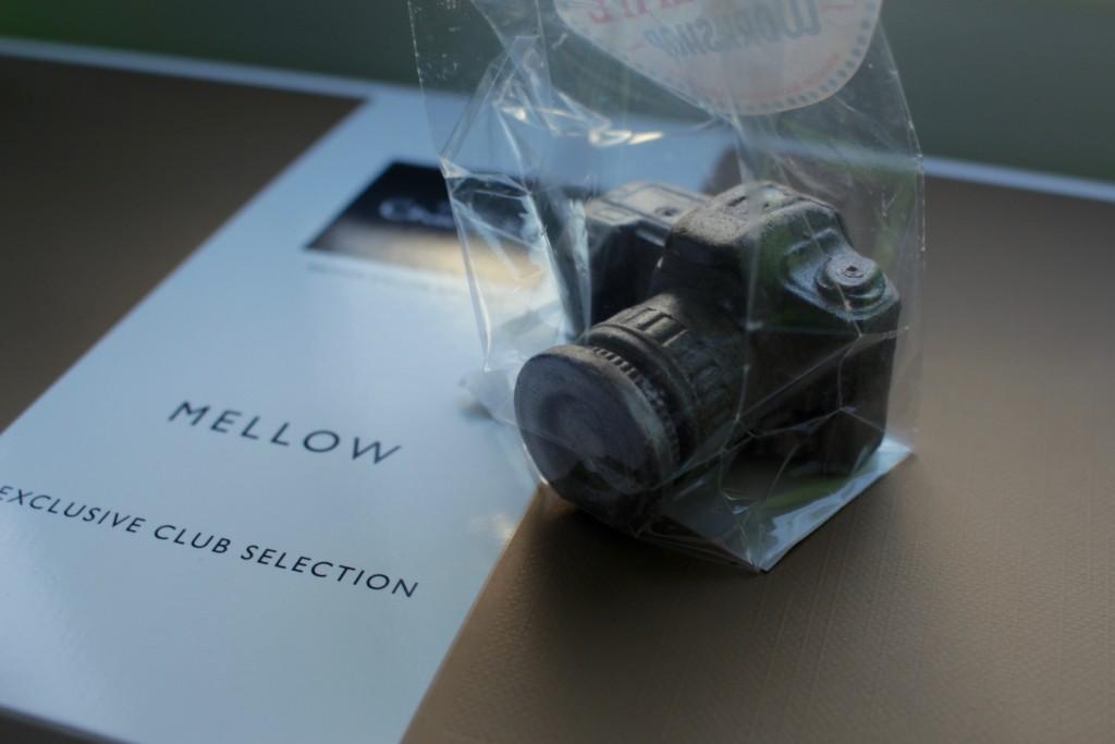 A chocolate camera
