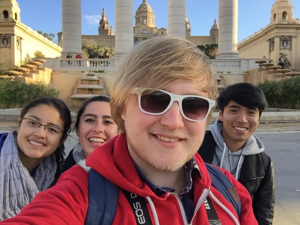 New friends on Montjuïc