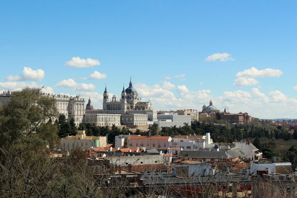 Views towards Royal Madrid