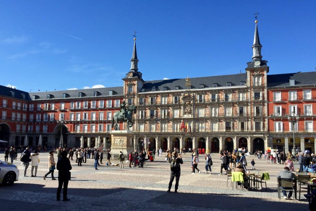 Plaza Mayor on the way through