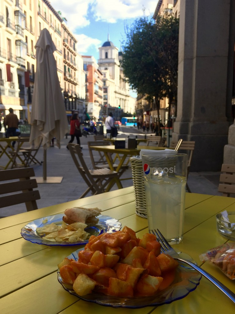 Tapas with a view