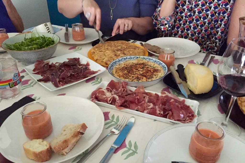 A Spanish feast!