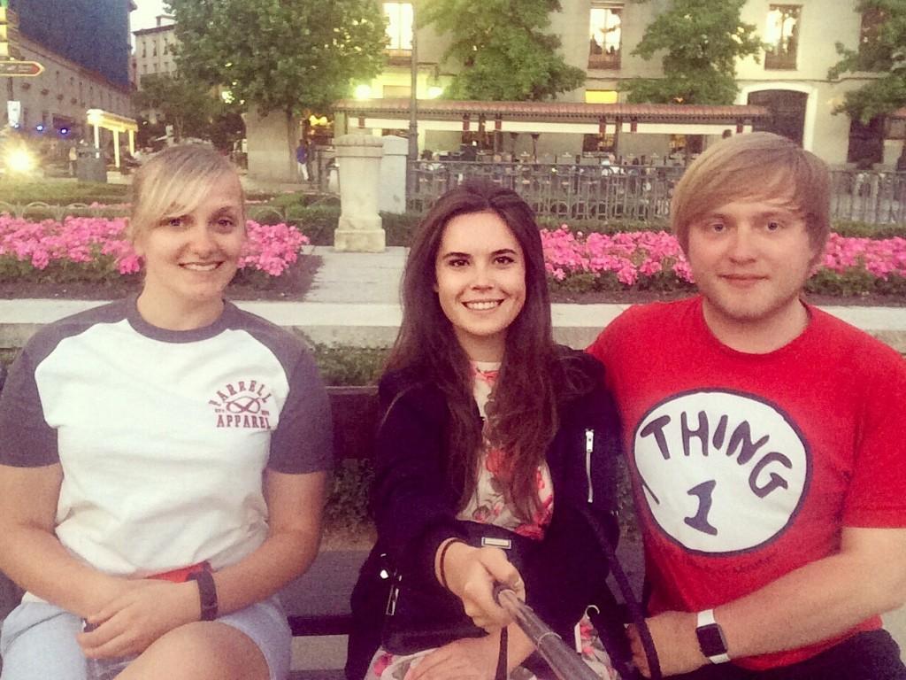 The three of us in Ópera