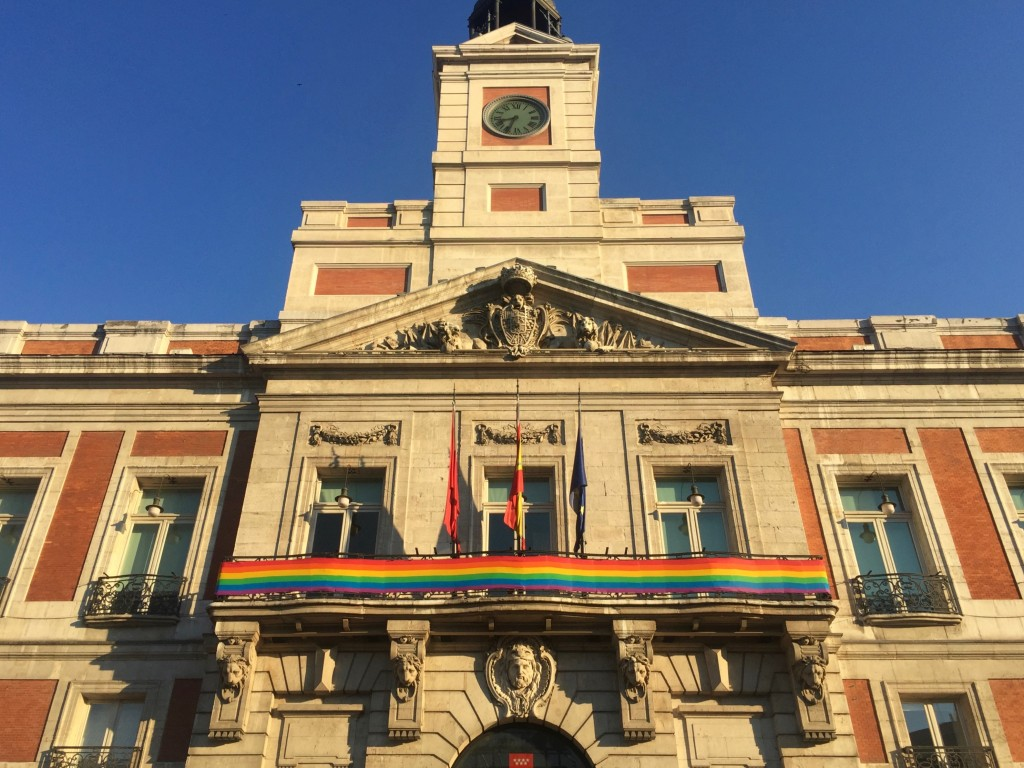 Madrid celebrates gay pride