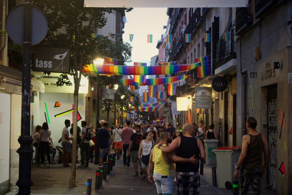 Wandering through Chueca