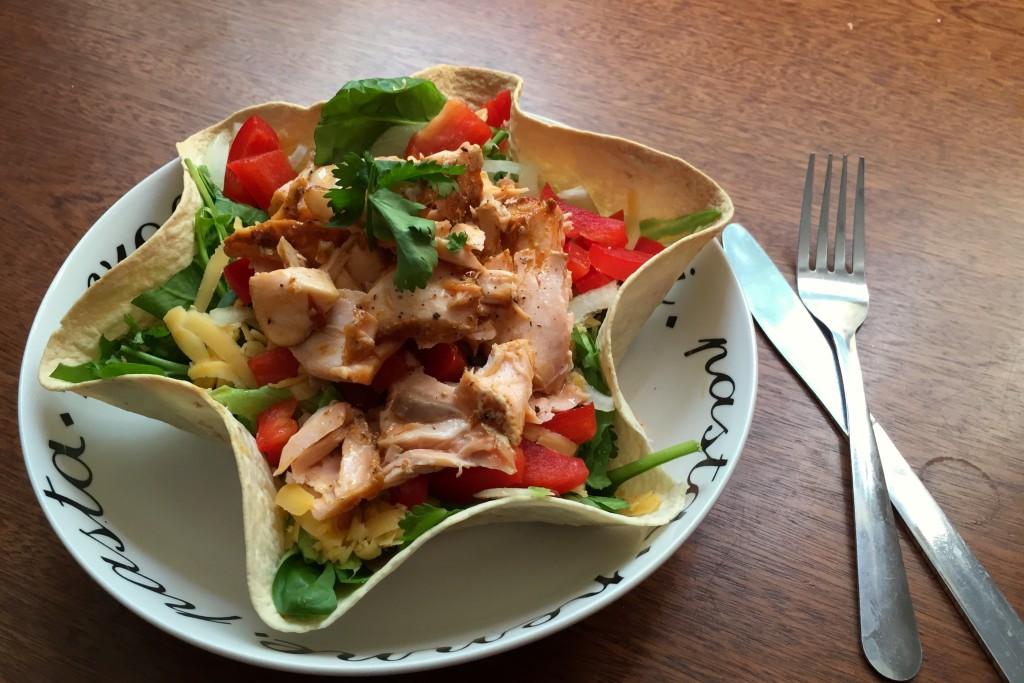 A nice salmon salad