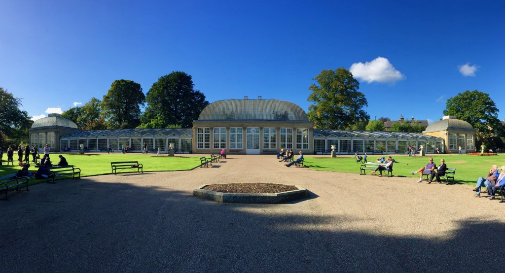The Gardens in the sun