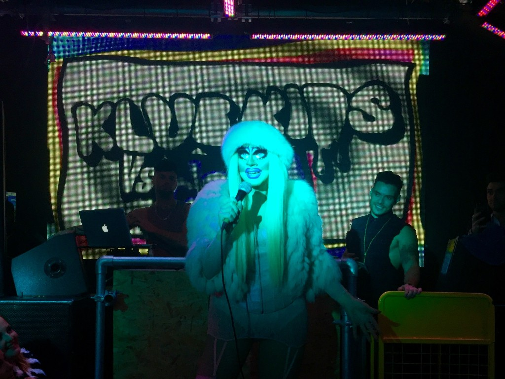 Trixie performs in Leeds
