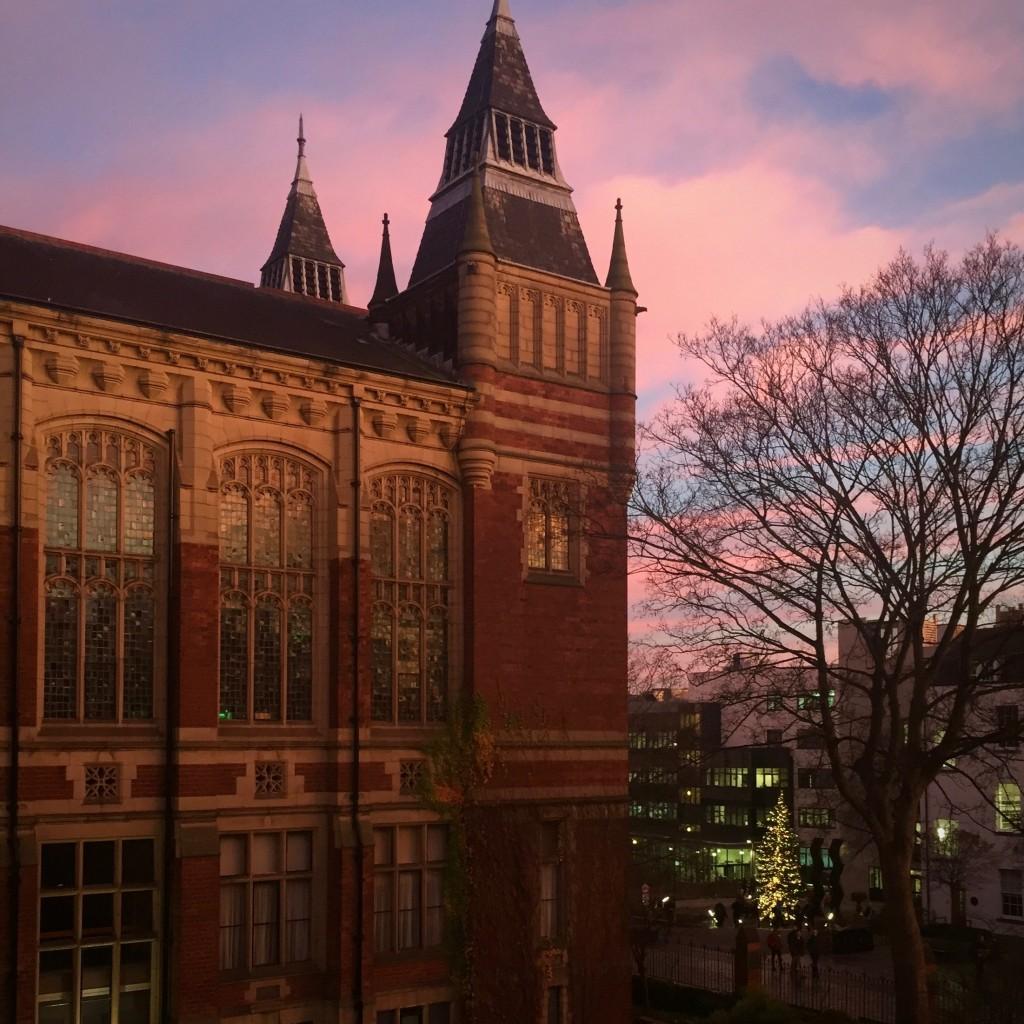 Leeds University looking beautiful
