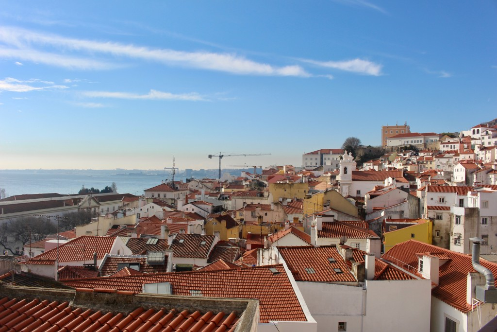 Views over Alfama