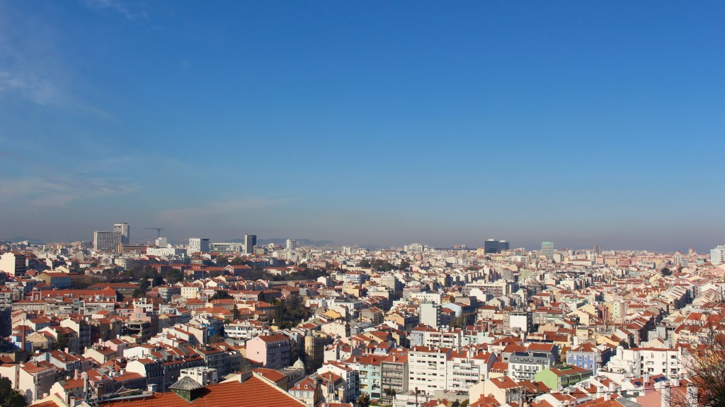 Looking over Lisbon