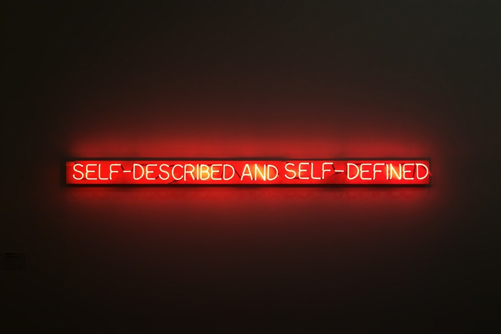 Self-described and self-defined, Joseph Kosuth, 1945
