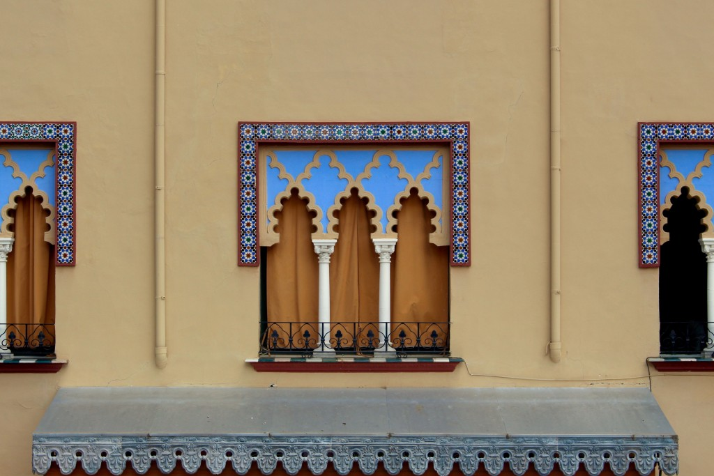 A more recent Islamic style window