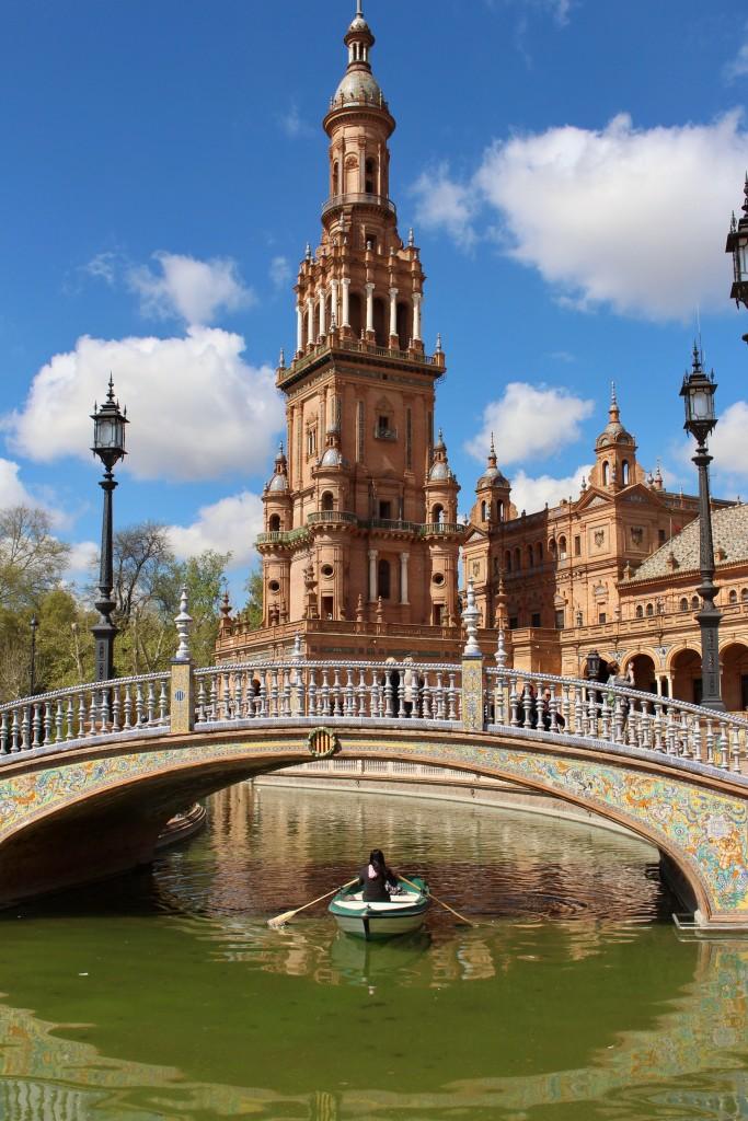 A gorgeous Seville scene