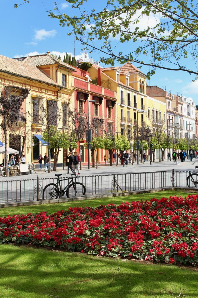 The pretty colours of Seville