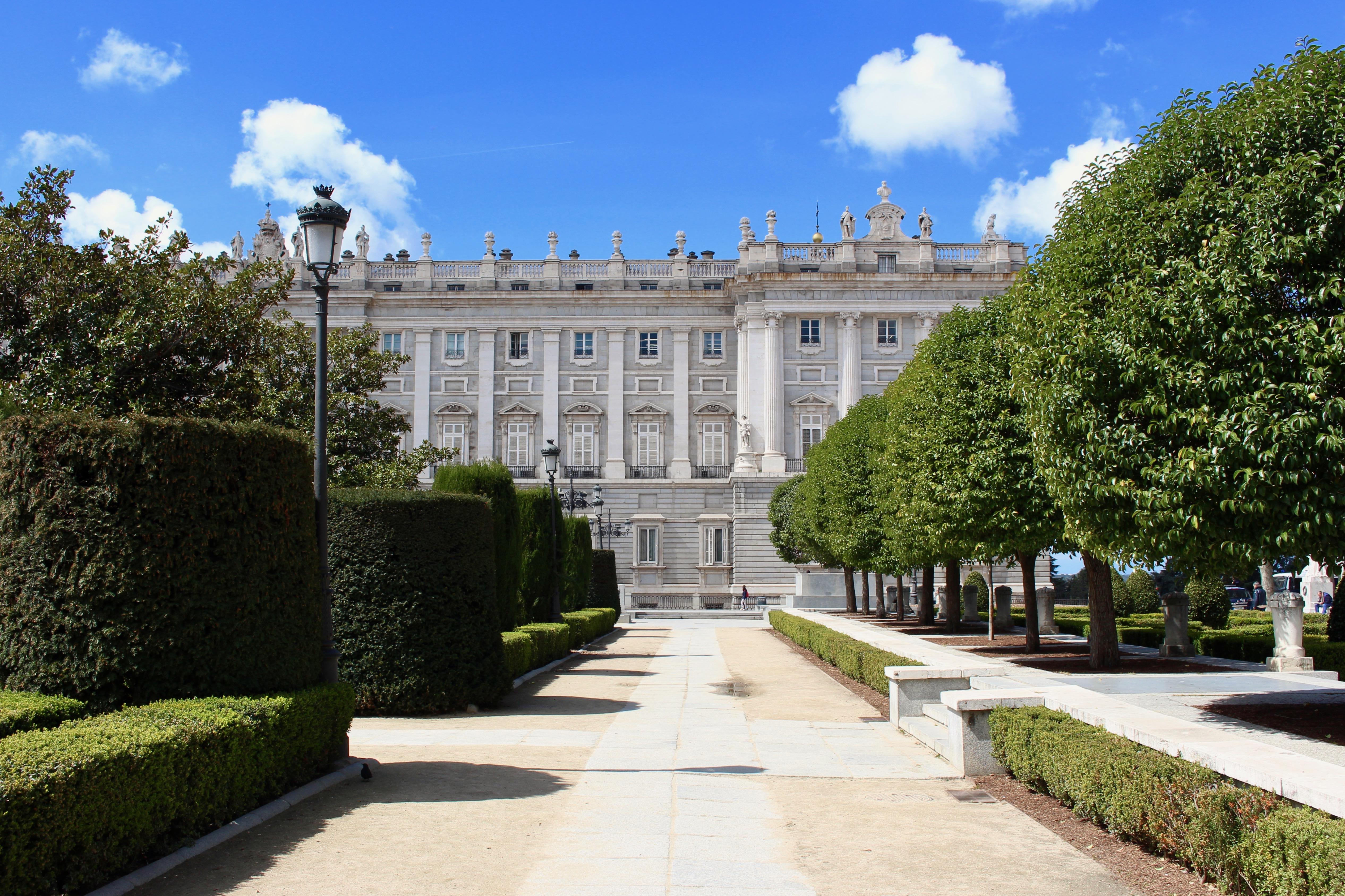 The resplendent royal palace