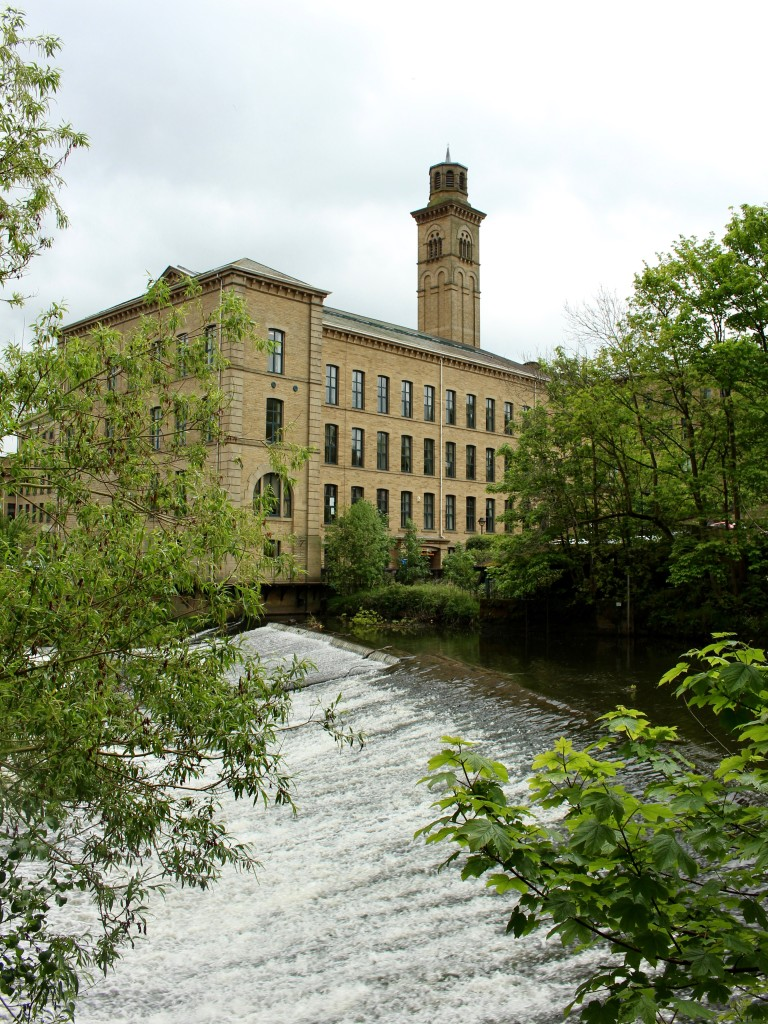 The mill from the park