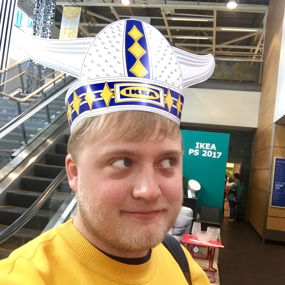 Got myself an IKEA hat and now I am cooler than you